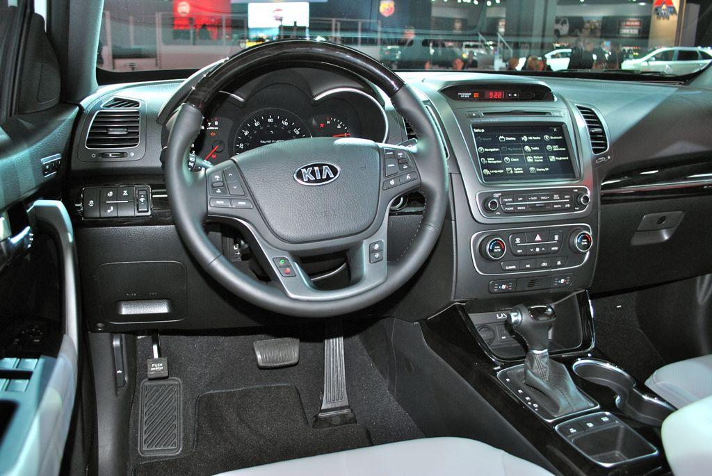 2014 Kia Sorento Sx Interior Photo Car And Driver Autos Post