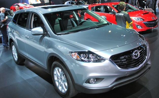 2012 LA: 2013 Mazda CX-9 goes KODO with better looks