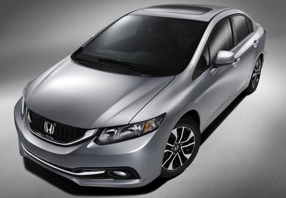 2013 Honda Civic Front 3/4 Angle