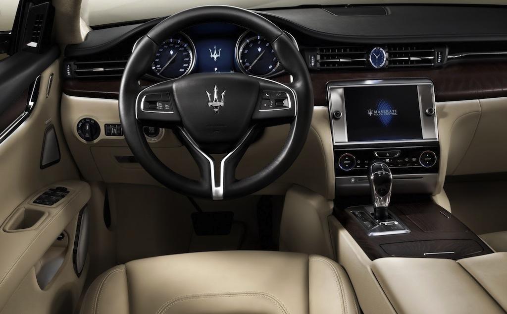2013 Maserati Quattroporte Interior - egmCarTech - egmCarTech Maserati Quattroporte 2013 Interior