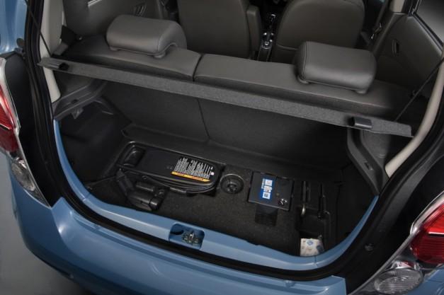 2014 Chevrolet Spark Ev Official Trunk Egmcartech