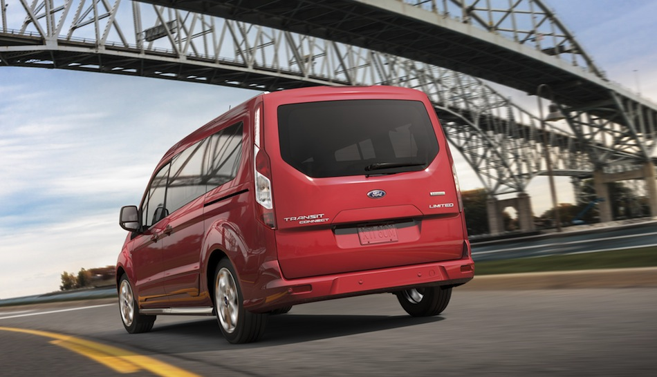 2014 ford transit connect wagon rear 3 4 action view egmcartech. Cars Review. Best American Auto & Cars Review