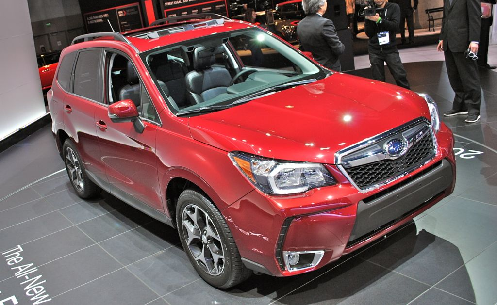2012 LA: 2014 Subaru Forester Top View