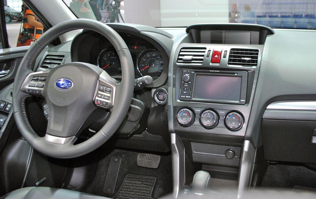 2012 La 2014 Subaru Forester Interior Egmcartech