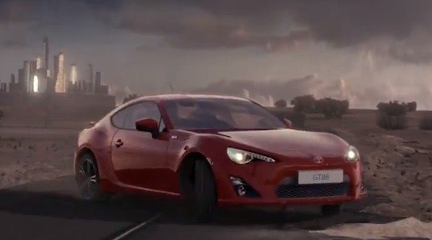 Watch the banned UK Toyota GT 86 commercial