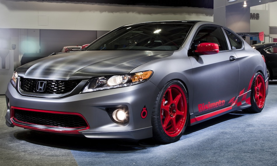 Bisimoto Engineering 2013 Honda Accord Coupe Grand Touring Front 3/4 View