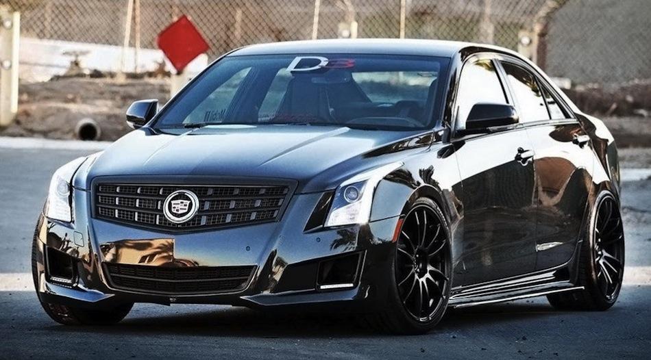 D3 Tuning 2013 Cadillac ATS Front 3/4 View