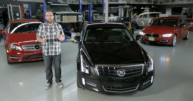 Motor Trend lines up Cadillac ATS 3.6 with BMW 335i and Mercedes C350