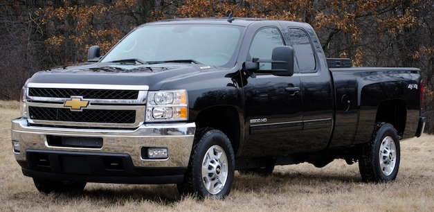 Chevrolet Silverado HD bi-fuel
