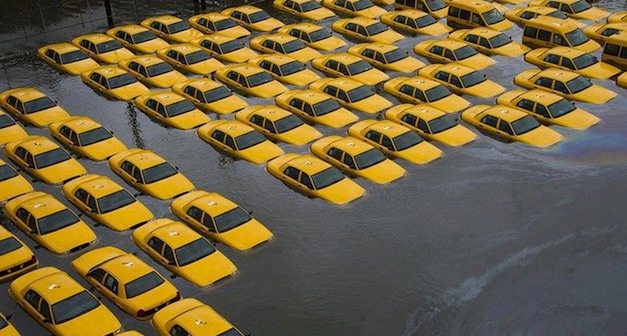 Automakers lost more than 15,000 new vehicles during Hurricane Sandy