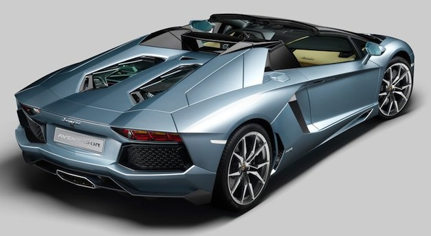 2014 Lamborghini Aventador LP700-4 Roadster price starts at $441,600