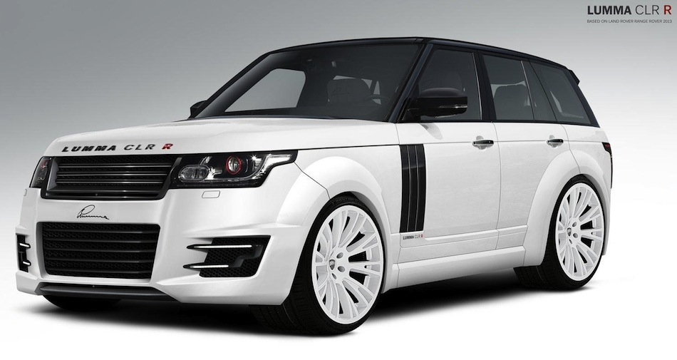 2013 Lumma Design Range Rover Front 3/4 Preview