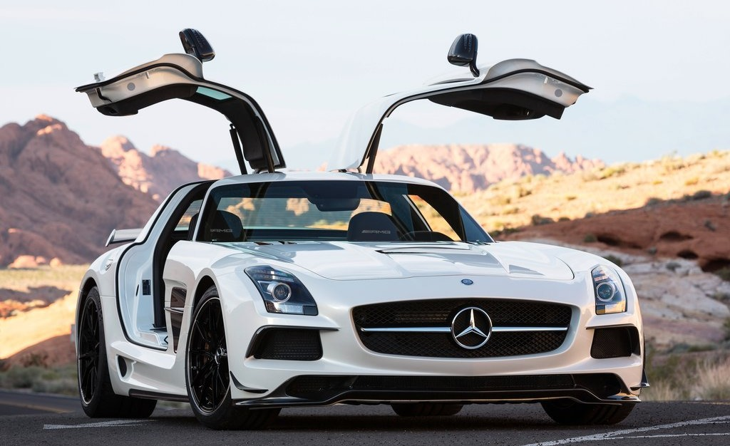 2014 Mercedes-Benz SLS AMG Black Series Main