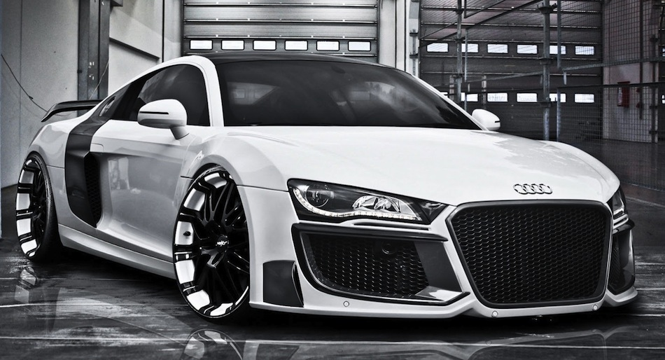 Regula Tuning Grandiose Audi R8 Front 3/4 View