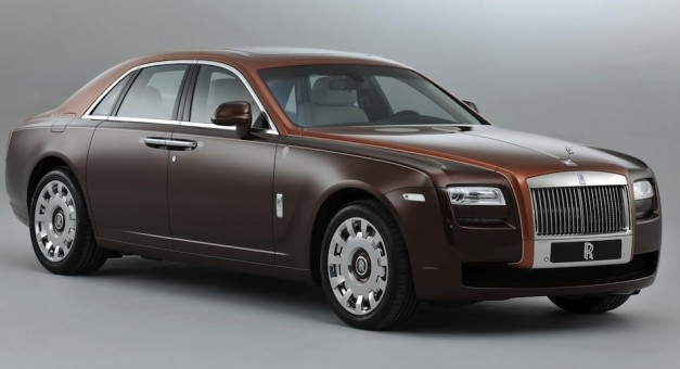 Rolls-Royce One Thousand and One Nights Ghost is only for the Middle East