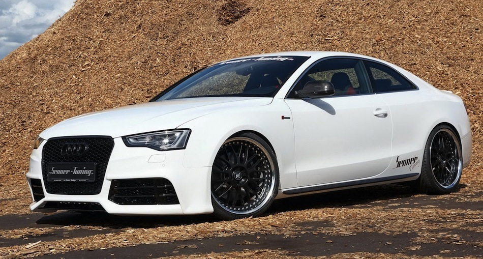 Senner Tuning Audi S5 Front 7/8 View