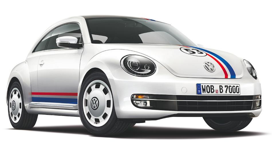 2013 Volkswagen Beetle Herbie Front 3/4