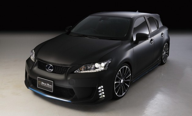 Wald International gives the Lexus CT 200h stealthy looks