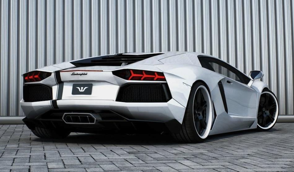 Lamborghini Gallardo Back View Idee Immagine Auto