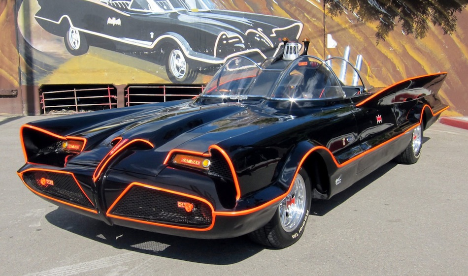 1966 Batmobile Lincoln Futura Main