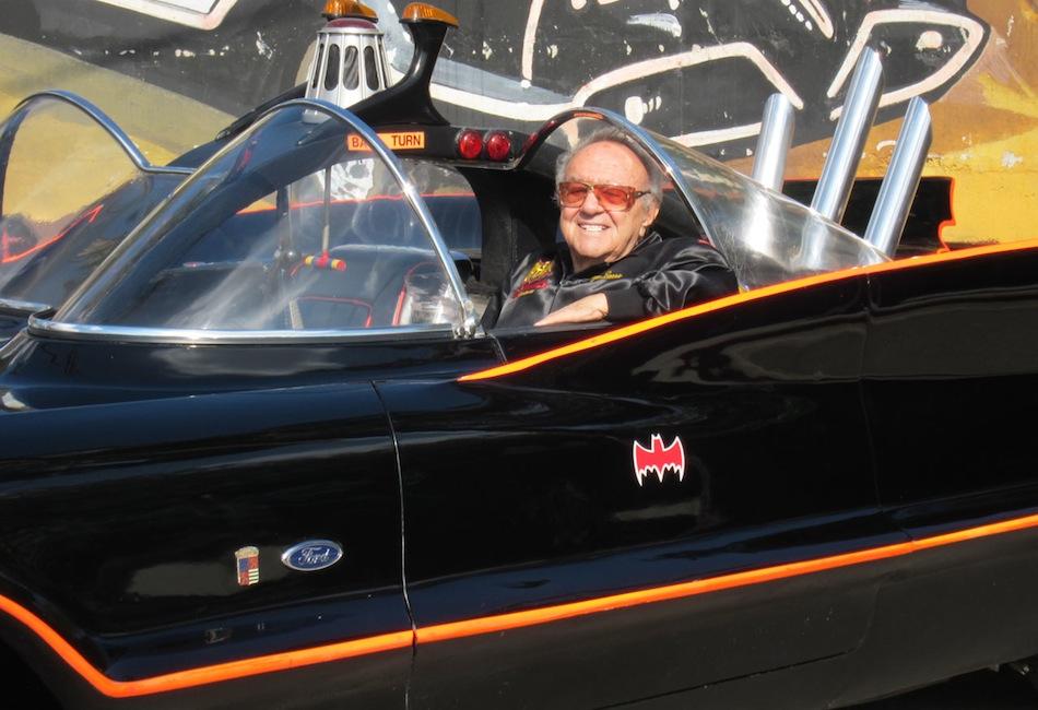 1966 George Barris Batmobile Lincoln Futura - 1966 Batman Tv Show ...