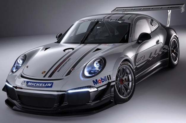 Porsche Introduces The Motorsport version of the next 911 GT3 , the 2013 Porsche 911 GT3 Cup