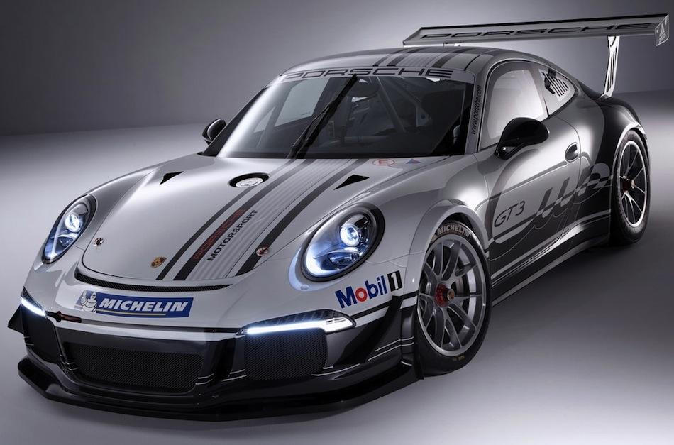 2013 Porsche 911 GT3 Cup Front 3/4 View