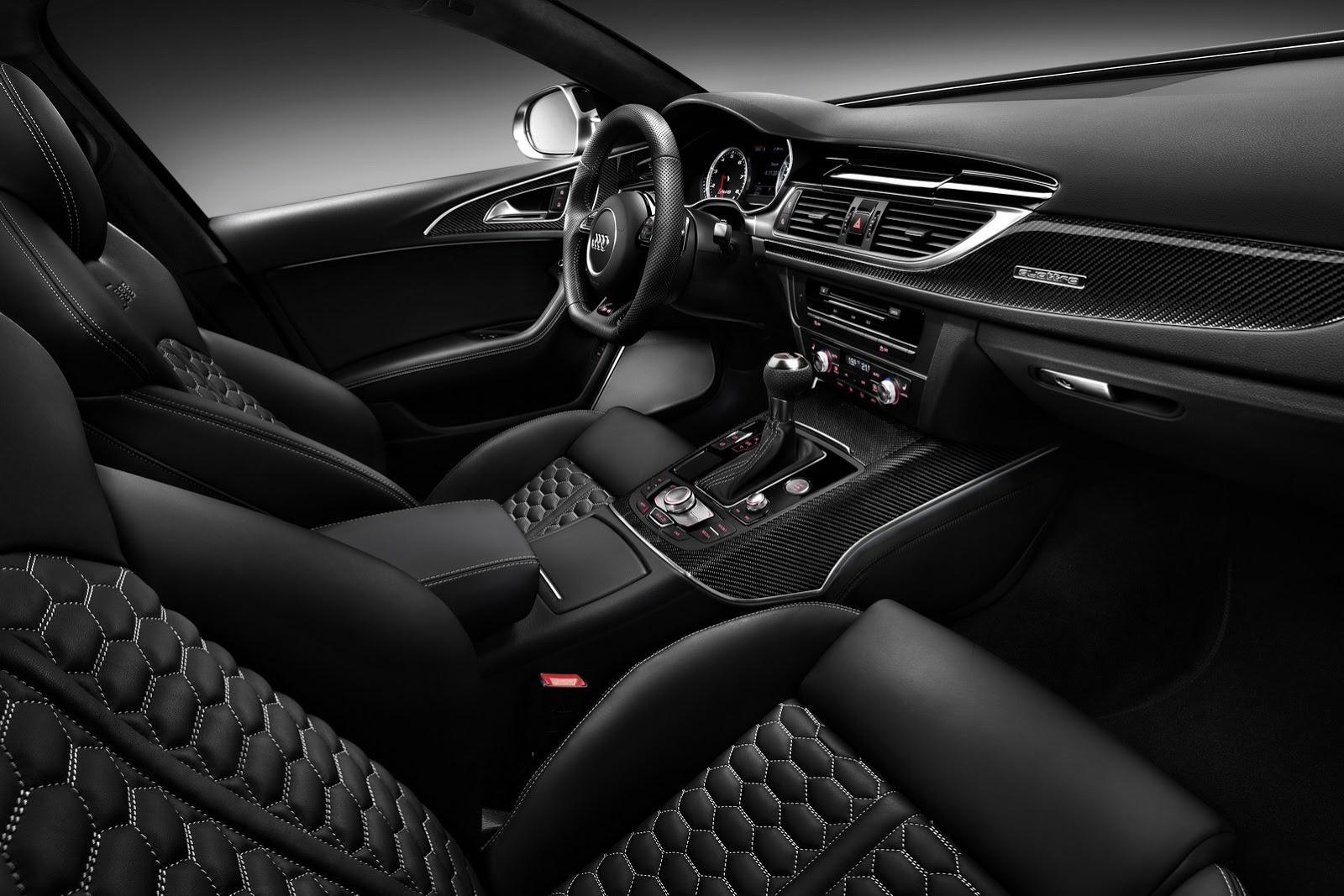 2014 Audi RS6 Avant Interior Angle