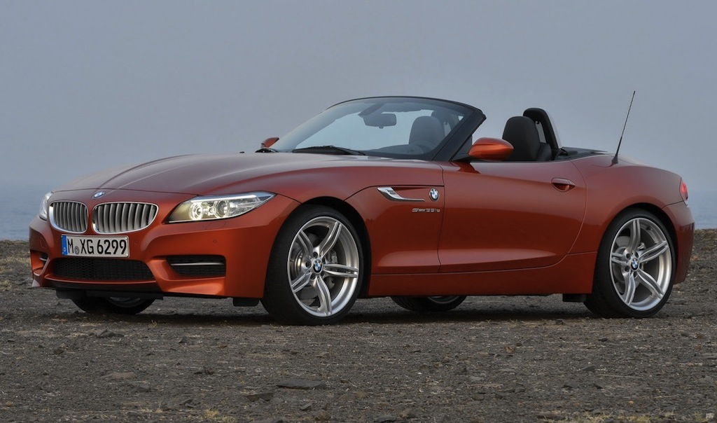 2014 BMW Z4 Front 7/8 View
