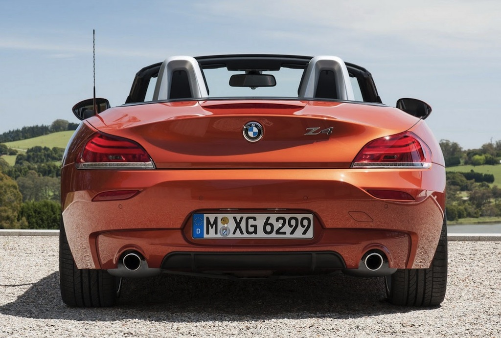 2014 BMW Z4 Rear
