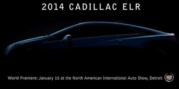 2014 Cadillac ELR Teaser