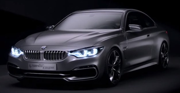 BMW 4 Series Coupe Concept Video