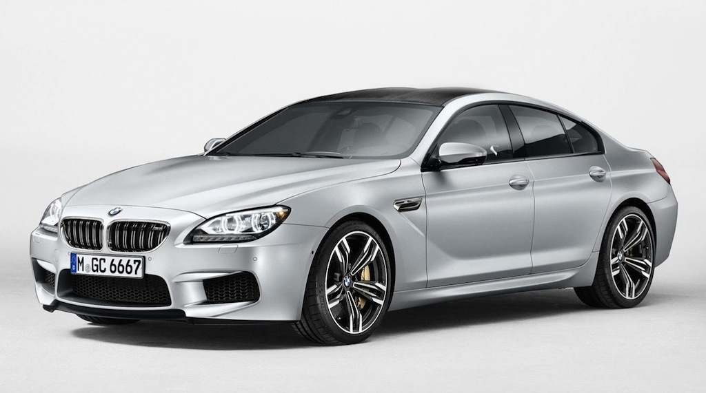 2014 BMW M6 Gran Coupe Front 7/8 View