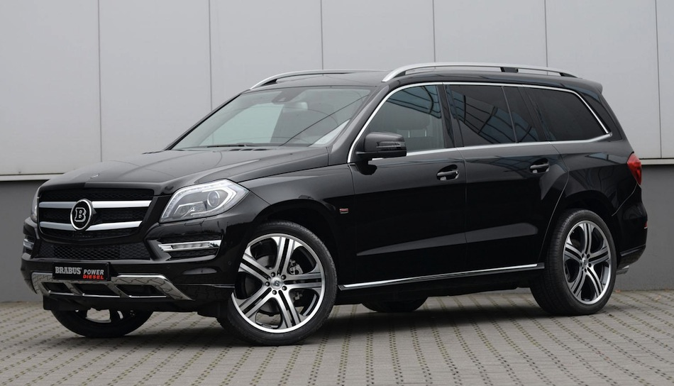 Brabus 2013 Mercedes-Benz GL-Class Front 7/8 View