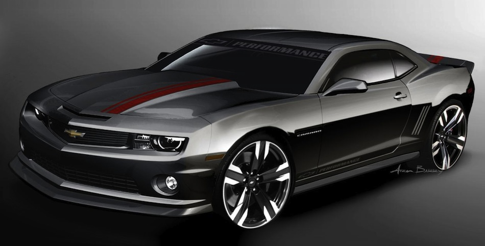 Chevrolet Performance Camaro V8 Concept Front