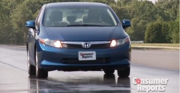 Consumer Reports Honda Civic 2013