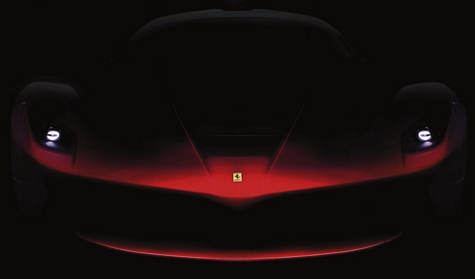 Ferrari F70 Teaser Front