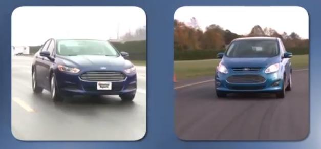 Ford Fusion Hybrid - Ford C-MAX Hybrid