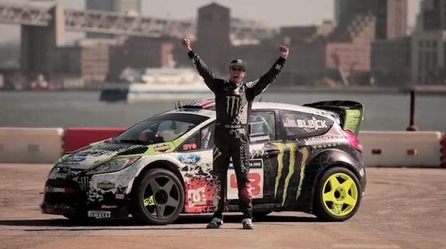 making of Gymkhana 5