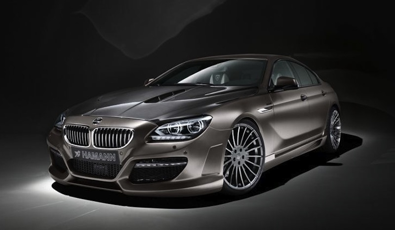 Hamann BMW 6 Series Gran Coupe Front 3/4 View