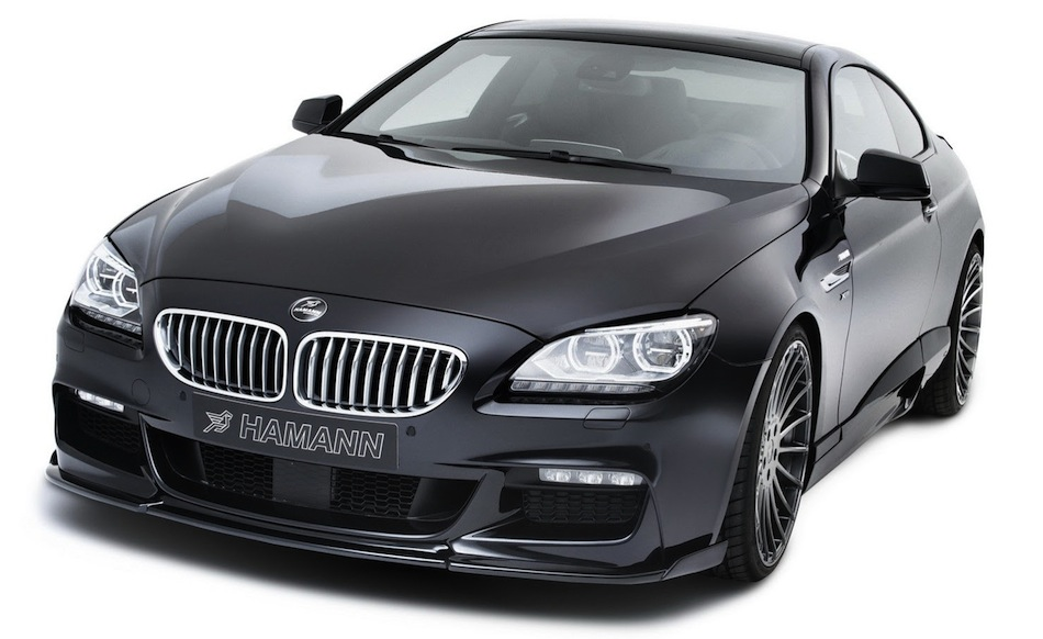 2013 Hamann BMW 6-Series Front Angle Shot