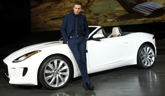 Damian Lewis - Jaguar F-TYPE Roadster