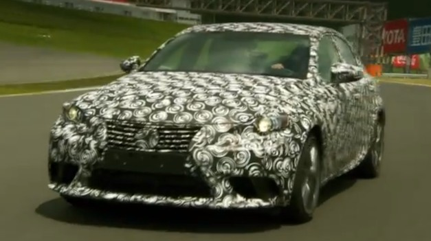 2014 Lexus IS Prototype