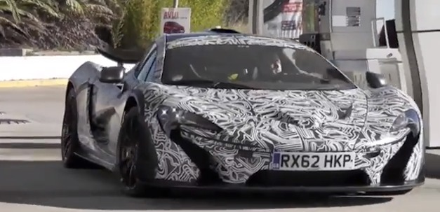 Video: Camouflaged McLaren P1 prototype caught testing