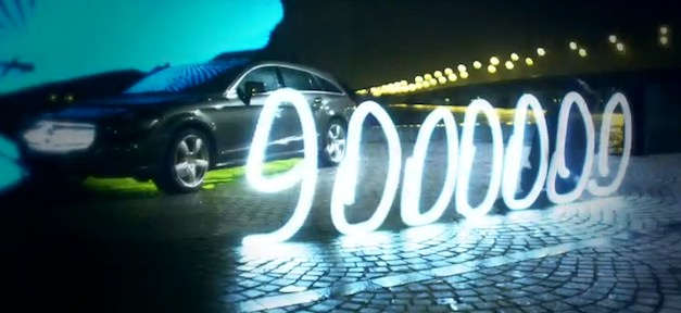 Mercedes-Benz 9 Million Facebook Fans