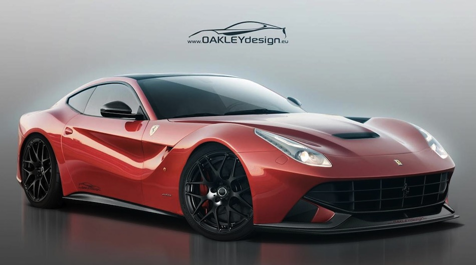 Oakley Design Ferrari F12 Berlinetta Front 7/8 View