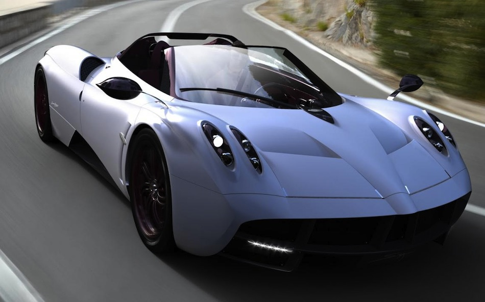 Photo Renderings: Pagani Huayra Roadster Main
