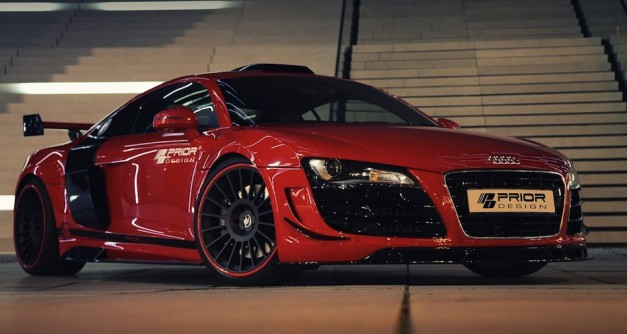 Prior Design Audi R8 Front Quarter View