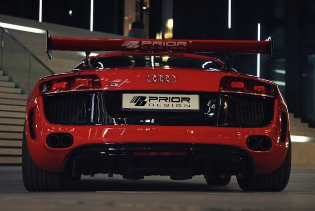 Prior Design Audi R8 Front Rear View