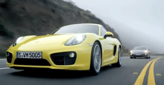Video: 2014 Porsche Cayman in Action